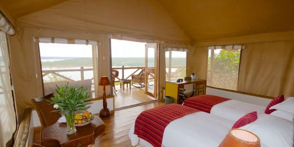 Uganda - Queen Elizabeth National Park - Mweya Safari Lodge - Room