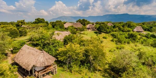 Uganda - Semliki Valley - Semliki Safari Lodge - Outside