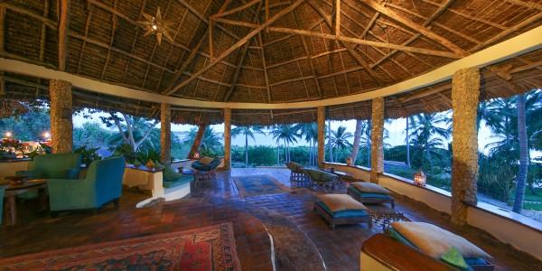 Zanzibar - Mafia Island - Kinasi Lodge - Lounge