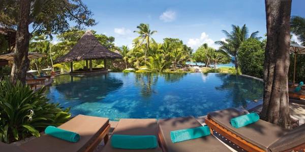 Indian Ocean - Seychelles - Constance Lemuria Praslin Seychelles - Pool