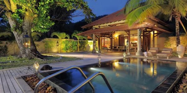 Indian Ocean - Seychelles - Sainte Anne Resort and Spa - Beach Villa