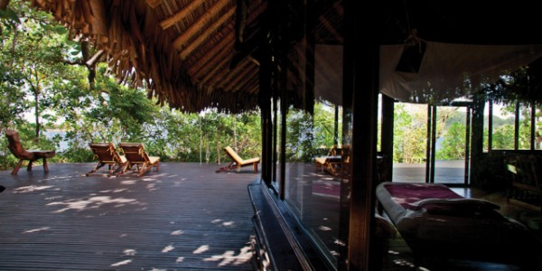 Madagascar - South-East Madagascar - Madaclassic -Manafiafy Beach & Rainforest Lodge - Terrace