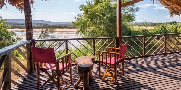 Madagascar - South-East Madagascar - Madaclassic - Mandrare River Camp - View