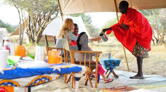 Africa - Kenya - Laikipia - Karisia Walking Safaris - Camp 2