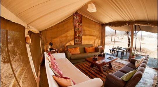 Africa - Kenya - Laikipia - Karisia Walking Safaris - Tent