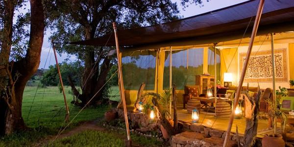 Africa - Kenya - Masai Mara - Kicheche Mara Camp - Overview