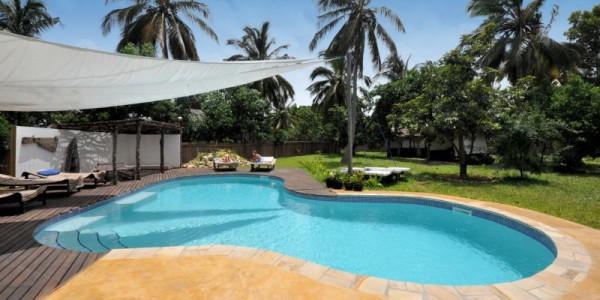 Africa - Zanzibar - Mafia Island - Pole Pole Bungalows - Pool