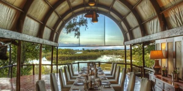 Botswana - Central Kalahari - Dinaka Lodge - Dining