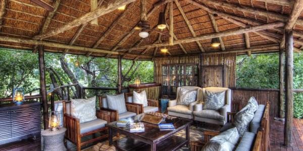 Botswana - Central Kalahari - Dinaka Lodge - Lounge