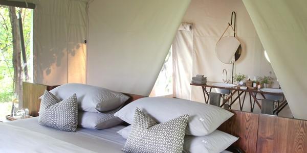 Botswana - Moremi - Machaba Camp - Bed