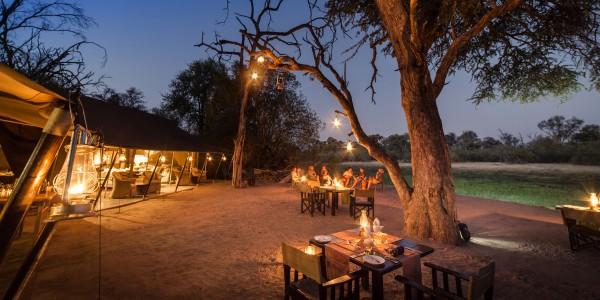 Botswana - Moremi - Machaba Camp - Dining