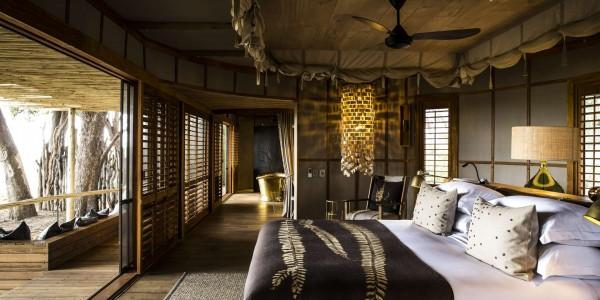 Botswana - Moremi - Mombo Camp - Bedroom