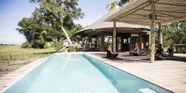 Botswana - Moremi - Mombo Camp - Pool
