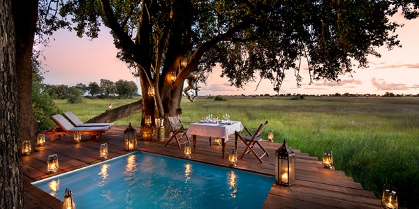 Botswana - Okavango Delta - Duba Plains Camp - Dining