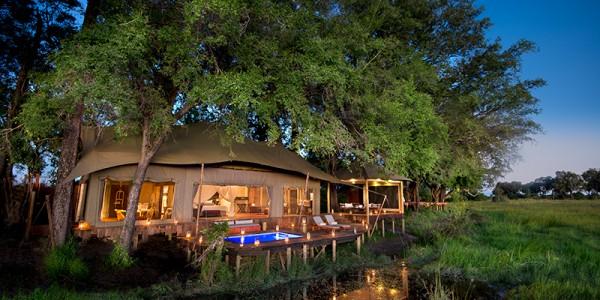 Botswana - Okavango Delta - Duba Plains Camp - Overview