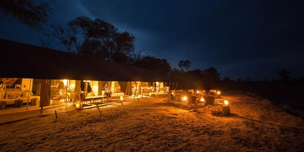 Botswana - Okavango Delta - Gomoti Plains Camp - Outside