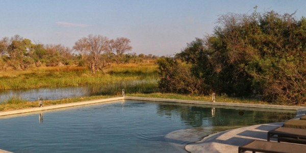 Botswana - Okavango Delta - Gomoti Plains Camp - Pool