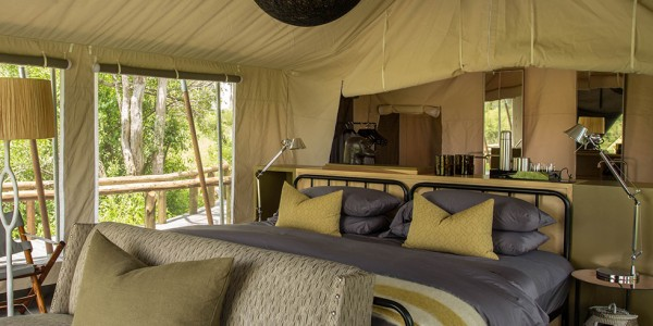 Botswana - Okavango Delta - Gomoti Plains Camp - Room