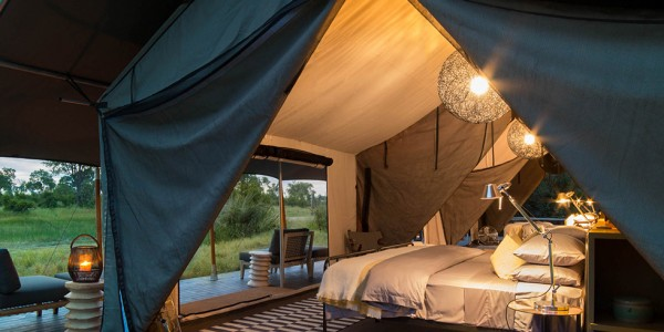 Botswana - Okavango Delta - Gomoti Plains Camp - Tent