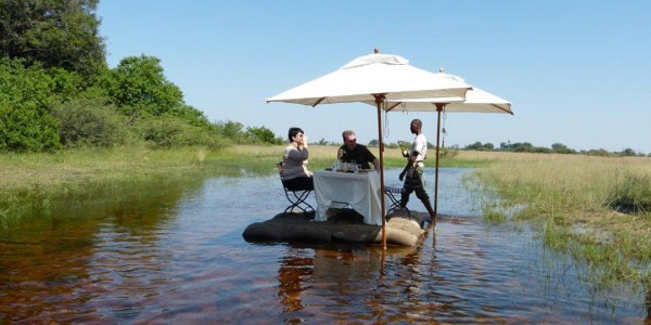 Botswana - Okavango Delta - Sanctuary Stanley's Camp - Island Lunch
