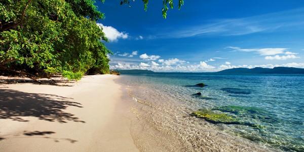 Cambodia - Beaches of Cambodia - Six Senses Krabey Island - Beach