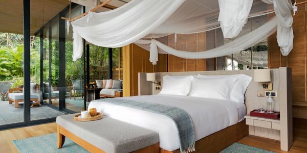 Cambodia - Beaches of Cambodia - Six Senses Krabey Island - Ocean Pool Villa Suite Bedroom