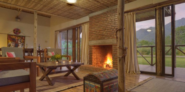 Ephiopia - Bale Mountains - Bale Mountain Lodge - House