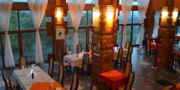 Ephiopia - Lalibela - Mountain View Hotel - Dining