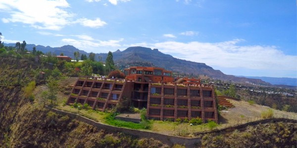Ephiopia - Lalibela - Mountain View Hotel - Overview
