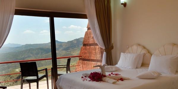 Ephiopia - Lalibela - Mountain View Hotel - Room