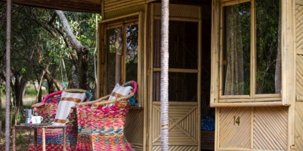 Ephiopia - Rift Valley Lakes - Hara Langano Lodge - Terrace
