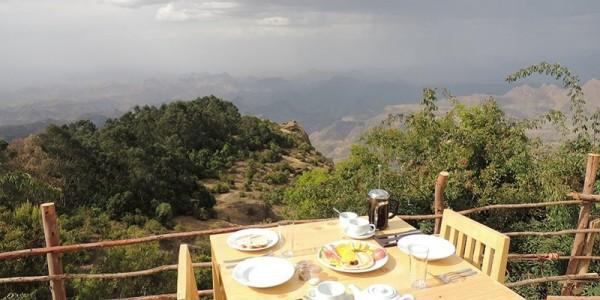 Ephiopia - Simien Mountains - Limalimo Lodge - View