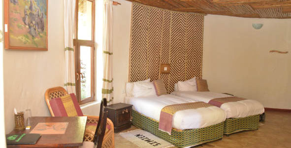 Ephiopia - Simien Mountains - Simien Lodge - Room
