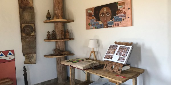 Ephiopia - Tigray - Korkor Lodge - Inside