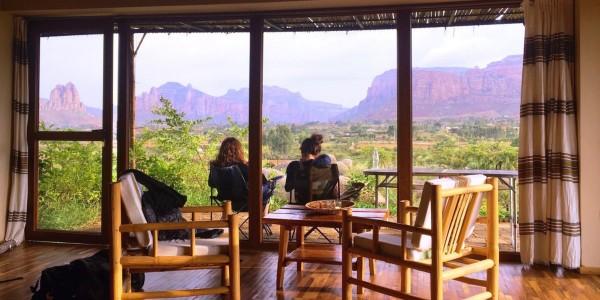 Ephiopia - Tigray - Korkor Lodge - View