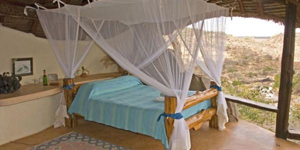 Kenya - Laikipia - Sabuk Lodge - Bedroom