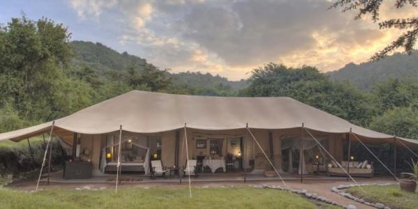 Kenya - Masai Mara - Cottars 1920s Camp - Family Tent