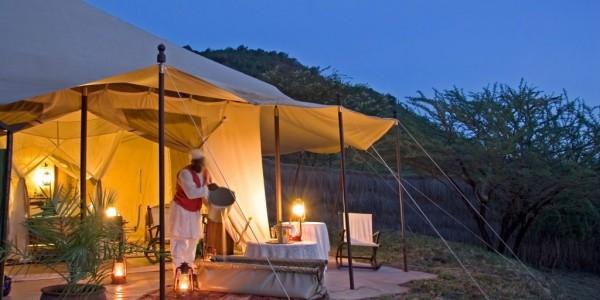 Kenya - Masai Mara - Cottars 1920s Camp - Tent