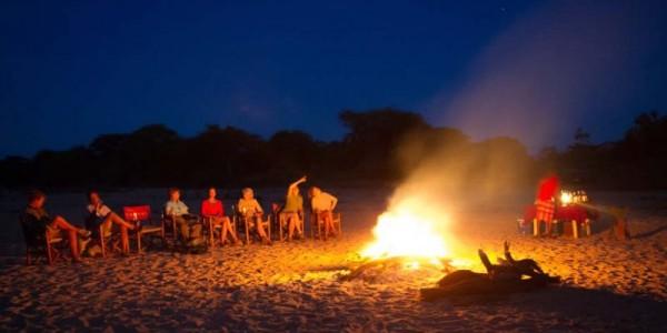 Kenya - Northern Kenya - Sarara Camp - Campfire