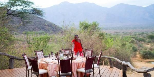 Kenya - Northern Kenya - Sarara Camp - Dining
