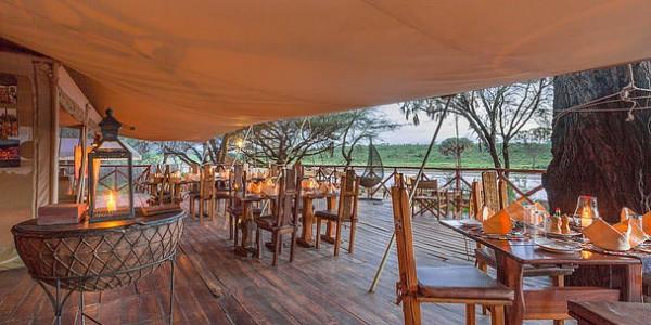 Kenya - Samburu - Elephant Bedroom Camp - Dining