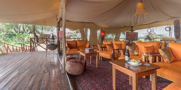 Kenya - Samburu - Elephant Bedroom Camp - Lounge