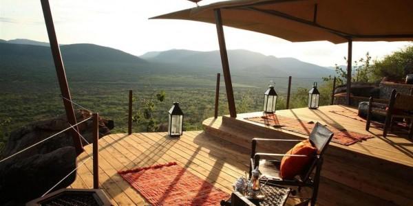 Kenya - Samburu - Saruni Samburu - View 2