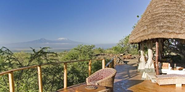 Kenya - Tsavo & Chyulu Hills - Campi ya Kanzi - View