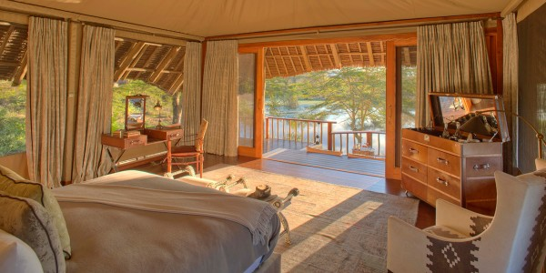 Kenya - Tsavo & Chyulu Hills - Finch Hattons Luxury Tented Camp - Room