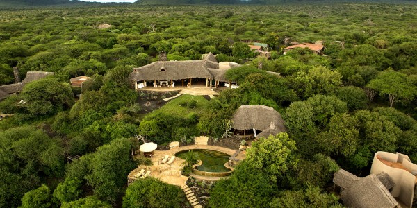 Kenya - Tsavo & Chyulu Hills - ol Donyo Lodge - Overview
