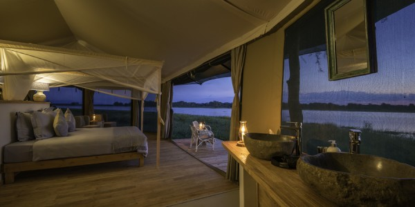 Malawi - Liwonde National Park - Kuthengo Camp - Inside