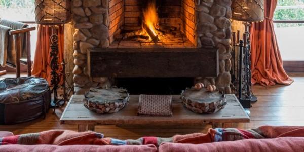 Mozambique - Maputo - Colina Verde - Fireplace