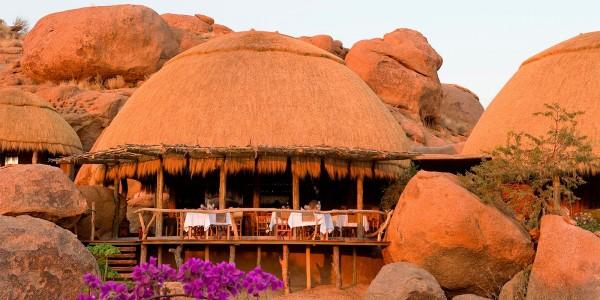 Namibia - Damaraland - Camp Kipwe - Dining Room