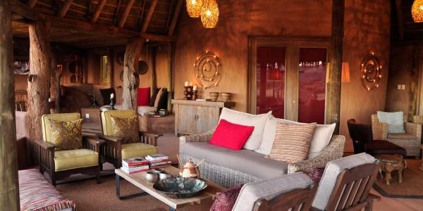 Namibia - Damaraland - Camp Kipwe - Lounge